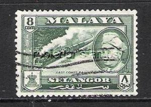 MALAYA SELANGOR 106 VFU LOCOMOTIVE R97-8