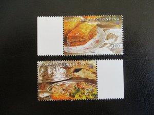 Bosnia and Hercegovina #496-97 Mint Never Hinged (M7O4) - Stamp Lives Matter! 2