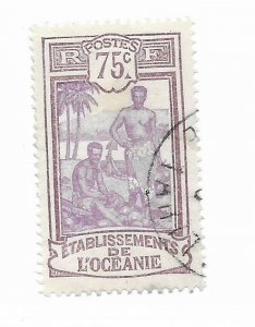 French Polynesia #47 Used - Stamp - CAT VALUE $2.25