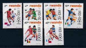 [59636] Rwanda 1986 World Cup Soccer Football Mexico MNH