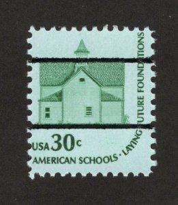 1606 Schoolhouse US Precancels Single Mint/nh FREE SHIPPING