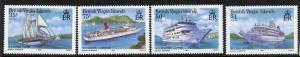 Virgin Islands 524-7 MNH Cruise Ships