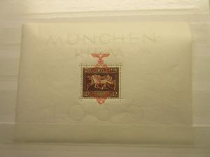 GERMANY  Scott  B105 sheet,  Michel Block 10  MINT NEVER HINGED  LotG4  Cat $150