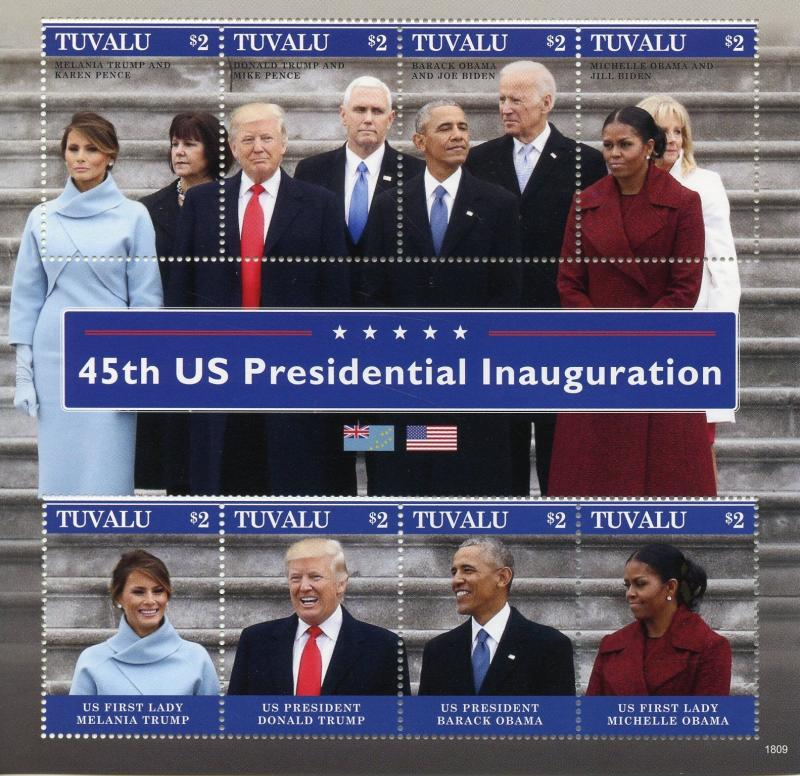 Souvenir Sheet Mnh President Barack Obama Stamp Grenada
