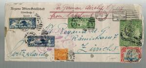 1928 USA Graf Zeppelin LZ 127 Flight Cover to Zurich Switzerland