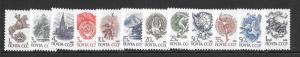 Russia #5723/5734 MNH 1988 Definitive complete set