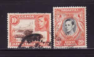 Kenya, Uganda, Tanzania 69, 74 U King George VI (E)