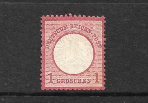GERMANY 1872 1gr  CARMINE  MLH  Mi 19