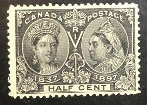 Canada Scott # 50 VF Mint LH CV $ 275 / Price $ 95    **Free Shipping**
