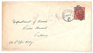 VV133 1932 CANADA *Port Coquitlam BC* Duplex Stationery RADIO {samwells-covers}