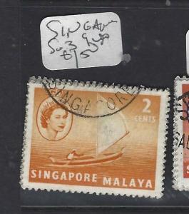 SINGAPORE (PP0502B)  QEII  2C  BOAT  SG 39    VFU