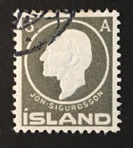 Iceland Sc. #89, used