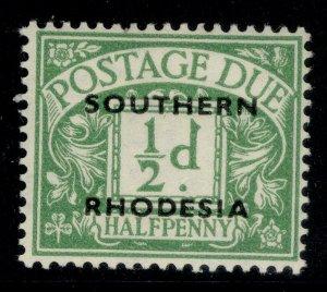 SOUTHERN RHODESIA GVI SG D1, ½d emerald, M MINT.