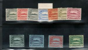 Solomon Islands #8 - #18 Very Fine Mint Original Gum Lightly Hinged