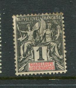 Guadeloupe #27 Mint