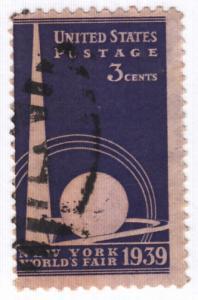 United States, Scott # 853 (1),  Used