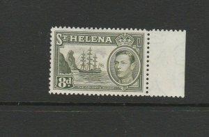 St Helena 1938/44 8d Olive Green VLMM SG 136b