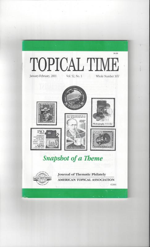 Topical Time Magazine JAN-FEB 2001  Number 305, ATA Journal