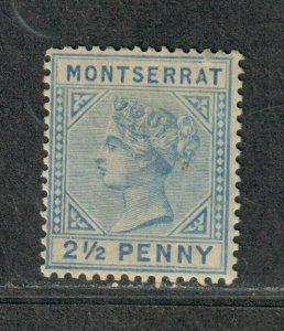 Montserrat Sc#8 M/LH/F-VF, Cv. $29