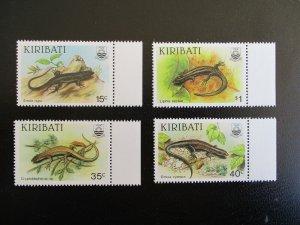 Kiribati #491-94 Mint Never Hinged (N7M0) WDWPhilatelic