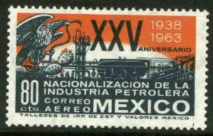 MEXICO C270, 25th Anniv of Nationalization of Oil Industry. MINT, NH. VF.