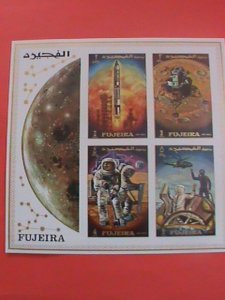 FUJEIRA STAMP: SPACE- FIRST MAN ON THE MOON--MNH S/S SHEET  PLEASE WATCH