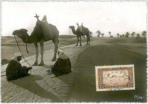 38755  - Algeria - POSTAL HISTORY -  MAXIMUM CARD    1939 : CAMELS & PALM TREES