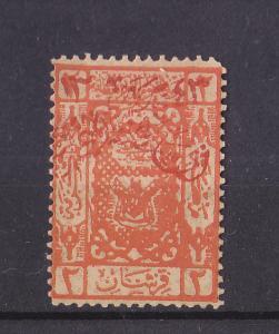 SAUDI ARABIA 1925  HEJAZ  KINGDOM  SCOTT #16A  IN RED PRINT MNH