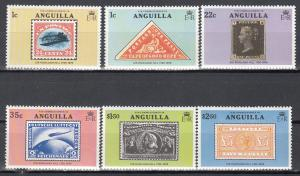 Anguilla, Sc # 349-354, MNH,1979, Stamp on Stamp