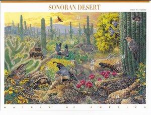 USA 3293  MNH SHEETS SONORAN DESERT