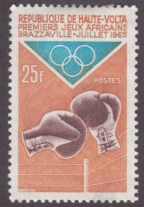 Burkina Faso 142 1st African Games, Brazzaville 1965