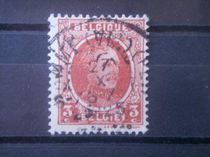 BELGIUM, 1922, used 3c, King Albert  Scott 146