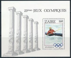 1984 Zaire 866/B54 1984 Olympic Games in Los Angeles 5,50 €