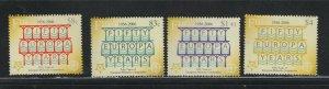 Fiji #1050-53 (2005 Europa Stamps set) VFMNH CV $10.00