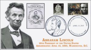2015, Abraham Lincoln, Death, Anniversary, Washington DC, 15-174