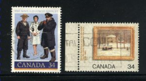 Can #1075-76   -1  used VF 1985 PD