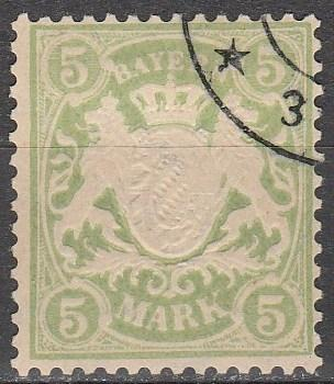 Bavaria #76 F-VF Used  CV $180.00 (A12937)