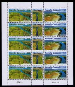 New Caledonia Nature Sheetlet of 10v SG#1456-1457 MI#1480-1481