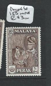 MALAYA PERAK  (P1008B) SULTAN 10C SG155  MNH
