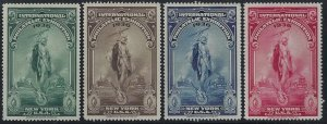 1936 National Stamp Exhibition Cinderella Poster Stamps Beautiful Mint NH Set