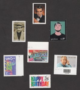 Small Collection of M VF stamps 3652,3692,3659,3561,3557,3558,3559