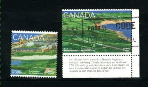 Canada #1548, 1551   -1    used VF 1995  PD