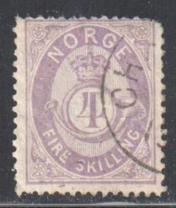 Norway 19a USED  C$200.00