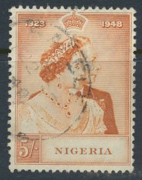 Nigeria  SG 63 SC# 74  Used Royal Silver Wedding 1948 please see scan