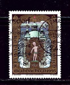 Austria 1693 Used 1995 Christmas