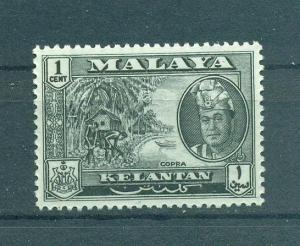 Malaya - Kelantan sc# 84 mh cat value $.25