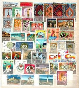 Algeria Scott 390 // 1395 Mint NH sets (Catalog Value $65.20)