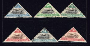 Mozambique STAMP AIR MAIL USED STAMP COLLECTION LOT