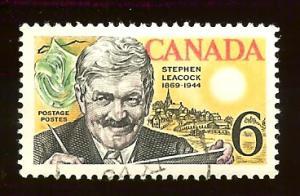 Canada #504 6¢ Stephen Leacock