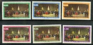VENEZUELA 812-4, C804-6 MNH SCV $5.80 BIN $3.00 INDEPENDENCE